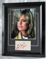 A781SG SUSAN GEORGE SIGNED